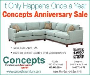 Concepts Anniversary Ad