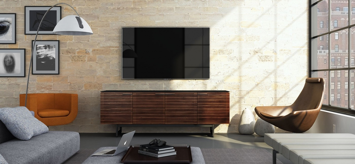 ... Corridor 8179 Bdi Chocolate Modern Tv Console Lifestyle  ...