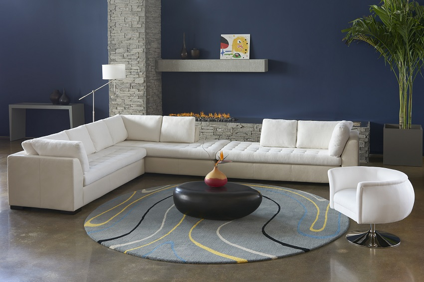Phenomenal Astoria Sectional By American Leather Concepts Furniture Theyellowbook Wood Chair Design Ideas Theyellowbookinfo