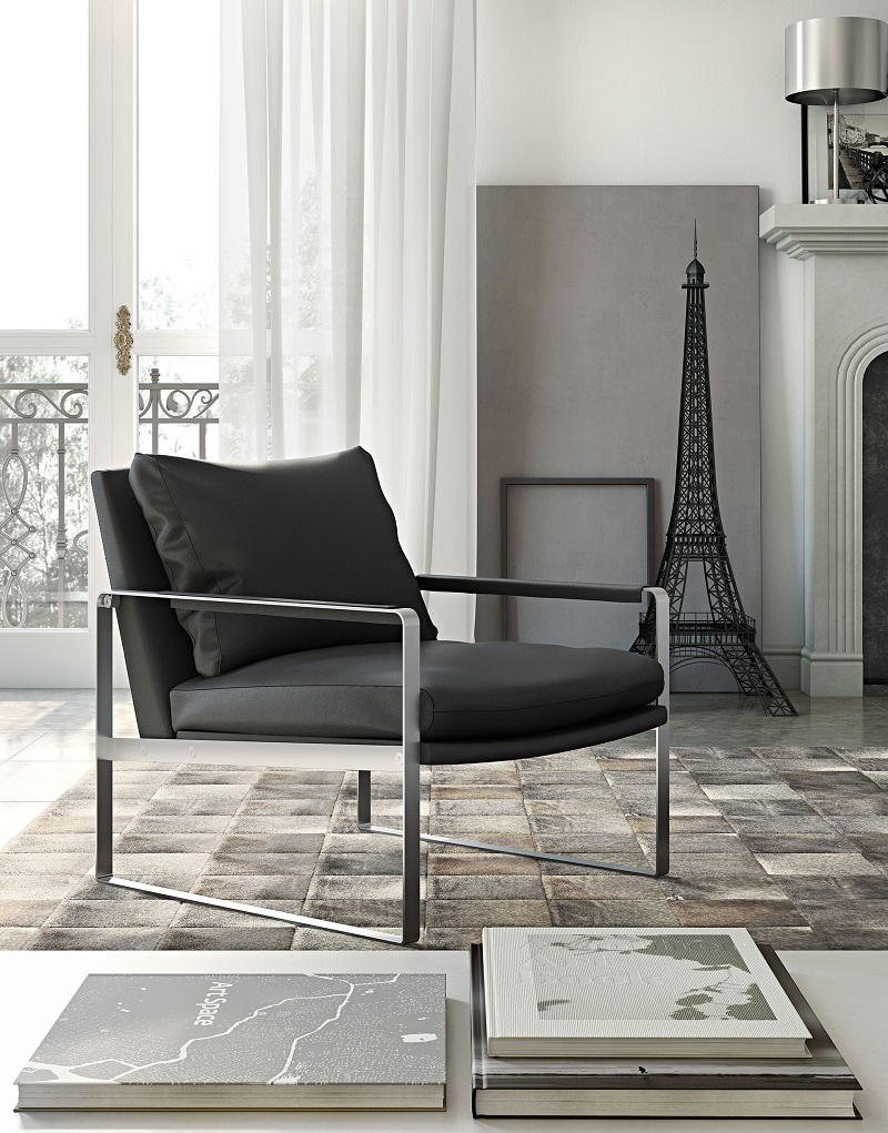Pleasing Charles Lounge Chair By Modloft Cjindustries Chair Design For Home Cjindustriesco
