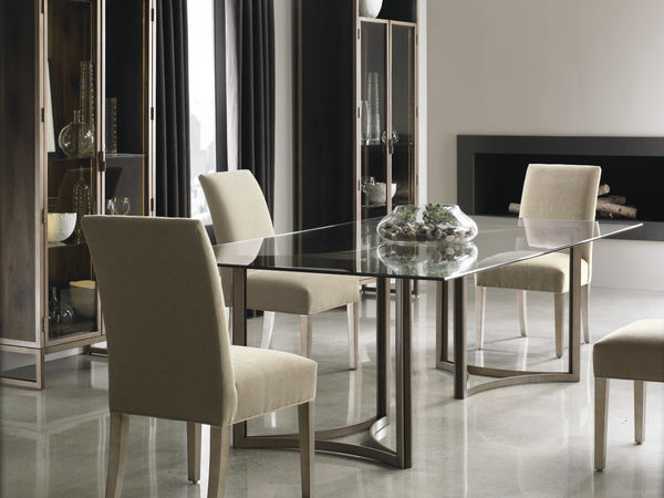 In The Clear Dining Table By Caracole
