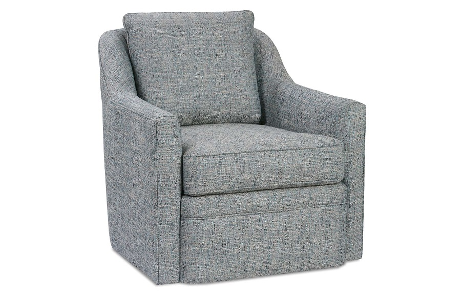 Marvelous Hollins Swivel Chair By Rowe Furniture Beatyapartments Chair Design Images Beatyapartmentscom