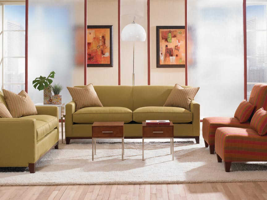 Martin Sofa G560 By Rowe Furniture