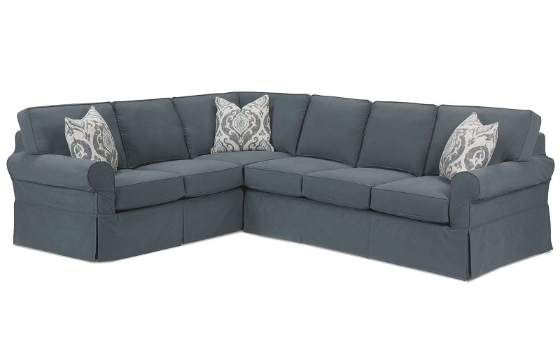 Masquerade Slipcover Sectional by Rowe Furniture