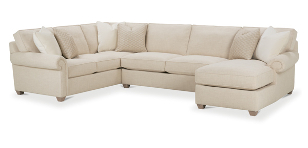 Morgan Sectional by Rowe Furniture