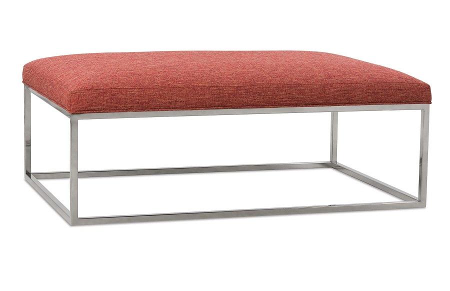 Excellent Percy Cocktail Ottoman By Rowe Furniture Inzonedesignstudio Interior Chair Design Inzonedesignstudiocom