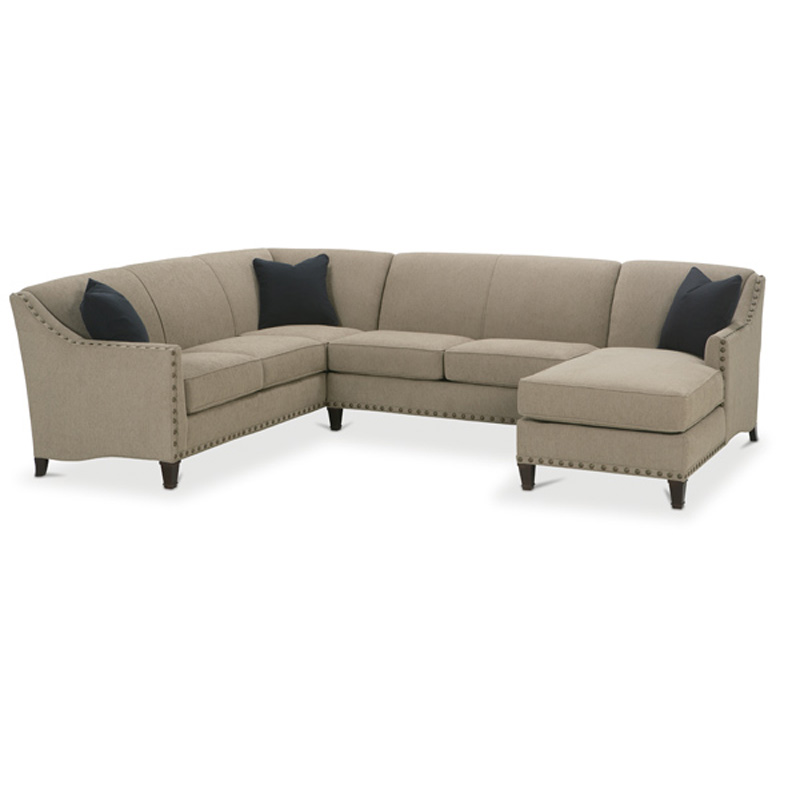 Rockford Sectional By Rowe Furniture