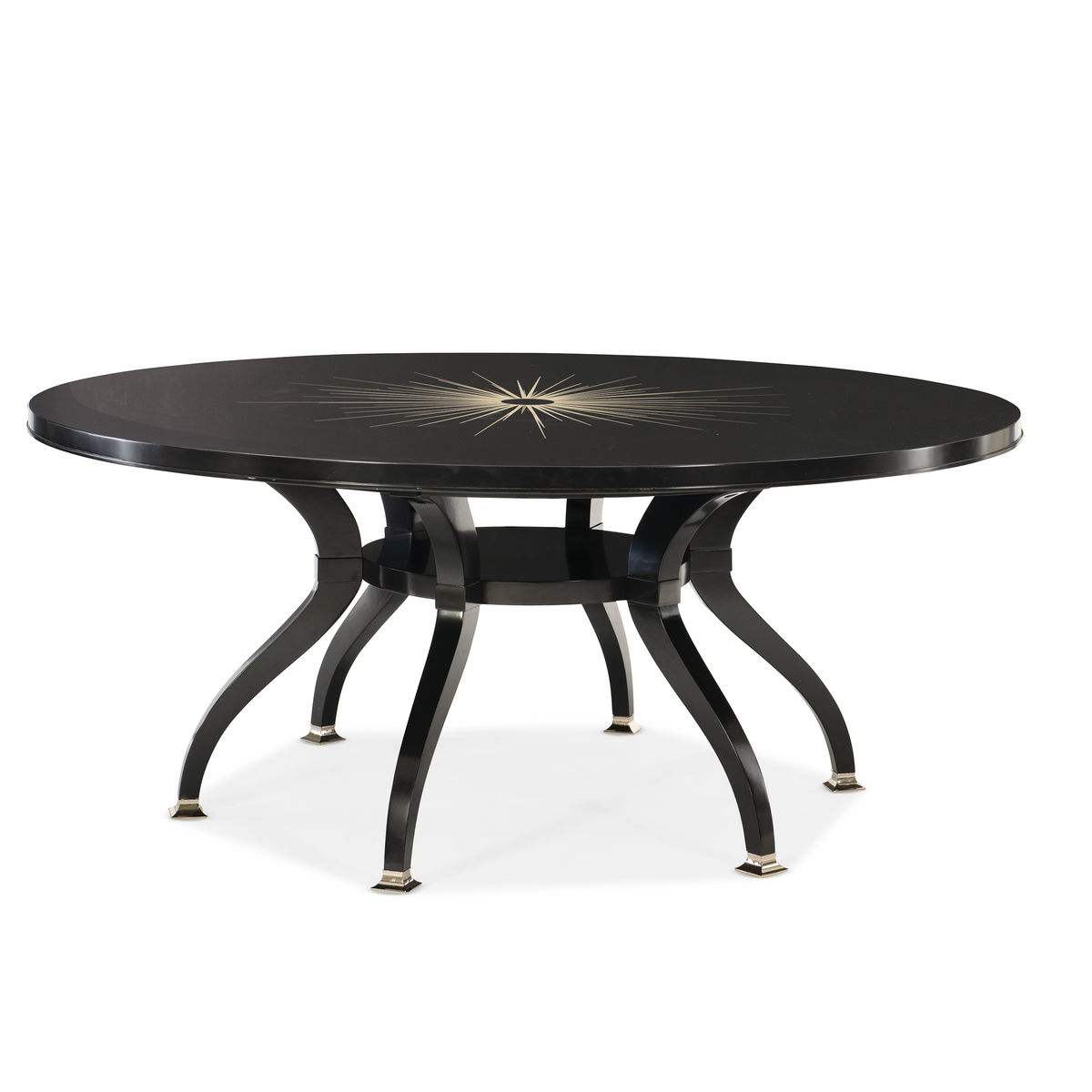 Total Eclipse Round Dining Table By Caracole